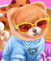 Baby Doggy Boo Caring Dress Up Game