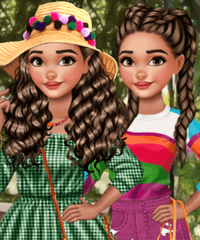 Moana Curly Hair Tricks Dress Up Game