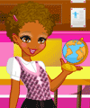 Polly Pocket Back to School Dress Up Game