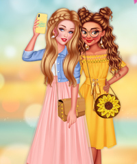 Perfect Summer Wardrobe Dress Up Game