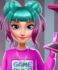 Ice Princess Anna Geek Fashion Dress Up Game