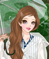 Fashion in the Rain Dress Up Game