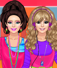 80s Aerobics Dress Up Game