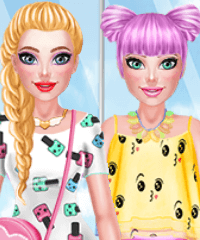 Fashionista Kawaii Look Dress Up Game