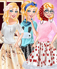 Barbie Fashion Planner Dress Up Game