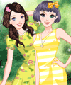 Wonderful Days Dress Up Game