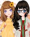 Gingko Flowers Dress Up Game