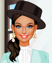 Winter Vintage Dress Up Game