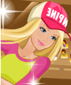 Barbie Soccer Star Dress Up Game