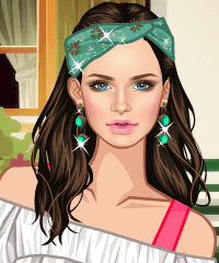 Sweet Rural Style Dress Up Game