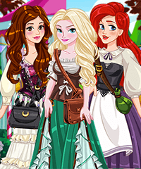 Ren Fair Fashion Dress Up Game