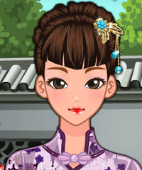 Chinese Doll Makeover Game