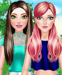 BFF Summer Day Dress Up Game