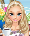 Elsa Afternoon Tea Dress Up Game