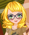 Hipster Glasses Dress Up Game