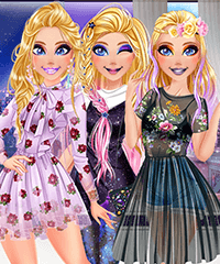 Barbie Fashion Week Model Dress Up Game