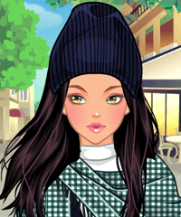 Shawl Loving Dress Up Game