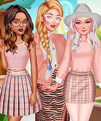 Design My Spring Look Dress Up Game
