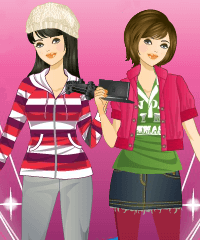 Gaming Girl Dress Up Game