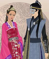 Korean Queen Seondeok Dress Up Game