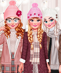 Design My Winter Hat Set Design and Dress Up Game