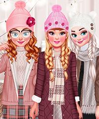 Design My Winter Hat Set Design and Dress Up Game