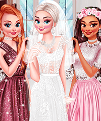 My BFFs Wedding Dress Up Game