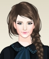 Painting Artist Princess Dress Up Game