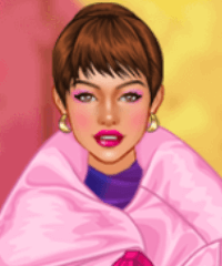 From Pink to Purple Dress Up Game