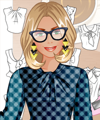 Fashion Studio Teacher Outfit Design Game