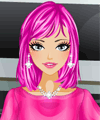 Shocking Pink Dress Up Game