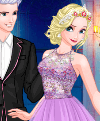 Ball Gown for Elsa Dress Up Game