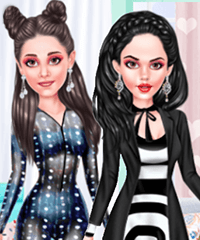Prints From Head to Toe Dress Up Game