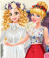 Disney Style Vlog OMG Wedding Dress Up Game