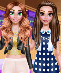 Emma Day Lunch and VIP Party Dress Up Game
