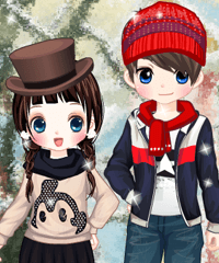 Winter Date Dress Up Game