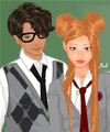 School Couple Dress Up Game