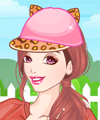 Cute Animal Hats Dress Up and Make Up Game