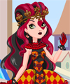 Lizzie Hearts Ever After High Dress Up Game