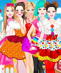 Barbie Funny Outfits Dress Up Game