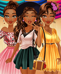 Moana Mall Mania Dress Up Game