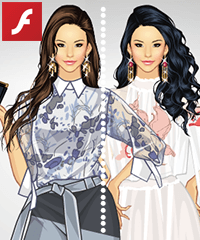Asian Elements Dress Up Game