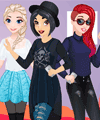 Disney Princess Superstars Dress Up Game