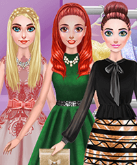 BFF Prom Look Dress Up Game