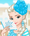 Elsa Around the World Dress Up Game