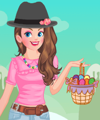 Easter Candy Land Dress Up Game
