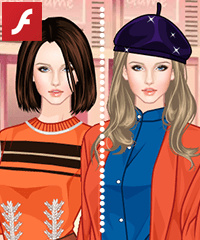Colors of Maple Dress Up Game