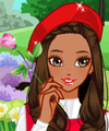Picking Flowers Make Up and Dress Up Game