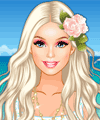 Barbie Beachside Wedding Dress Up Game