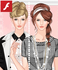 Modern Elisabeth Dress Up Game